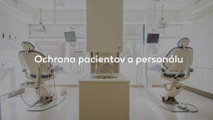 Ochrana pacientov a personálu
